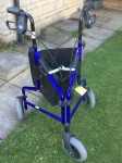 Days folding Tri-wheel walker