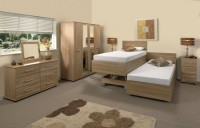 Bakare Beds Bello Sonno Twin Beds