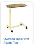 Alpine Overbed Table