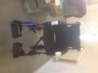 Alu lite Transit Wheel Chair