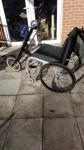 Cyclone Tracker Handbike attachment and wheelchair – 8 speed