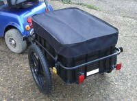 MSE MSTT Mobility Scooter Large Rear Towing Transport Trailer Shopping Solution