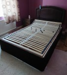4″6 x 6″6 Hereford Double Bed Frame and Harrow headboard