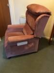 Chatsworth, Velluto Rose chair